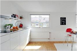 纯色厨房设计